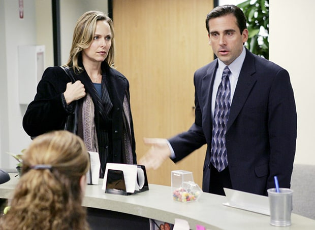 Jan Levenson and Michael Scott