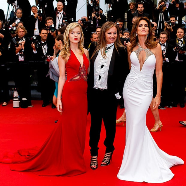 Georgia May Jagger, Eva Cavalli, Cindy Crawford