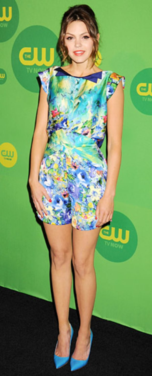 Aimee Teegarden: CW Networks 2013 Upfront