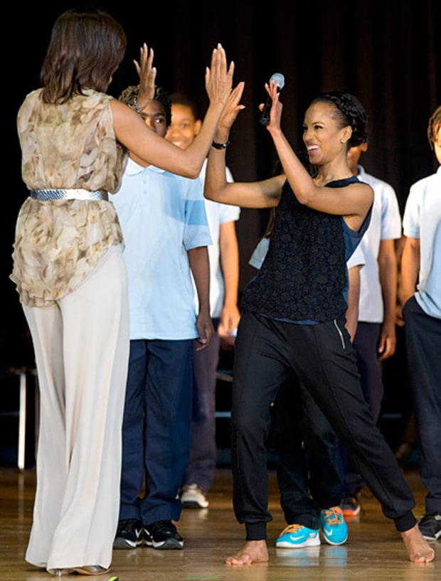 High-Fives from Mobama!