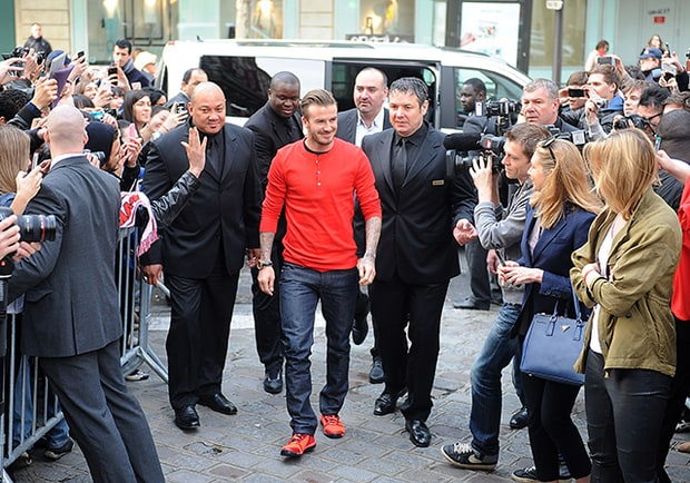 Beckham's Bodyguards