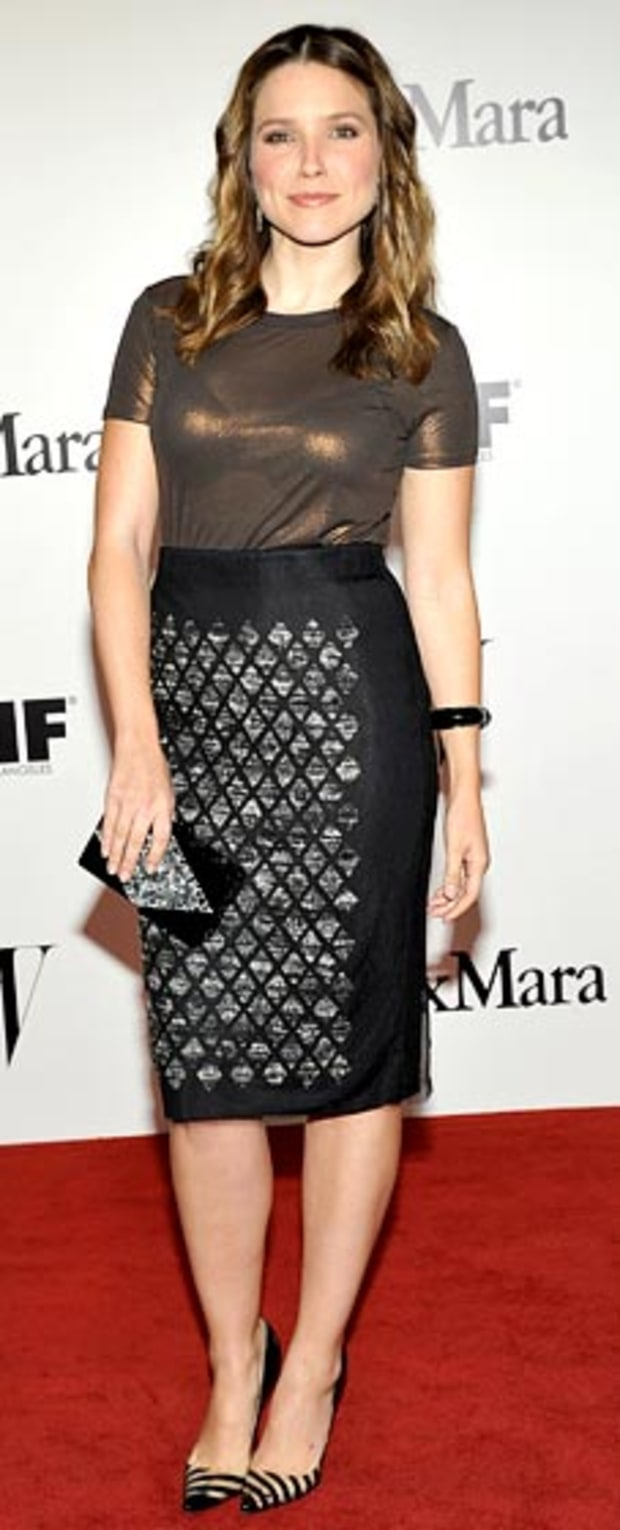 Sophia Bush: The Max Mara and W Magazine Cocktail Party to Honor the Women In Film Max Mara Face of the Future Awards