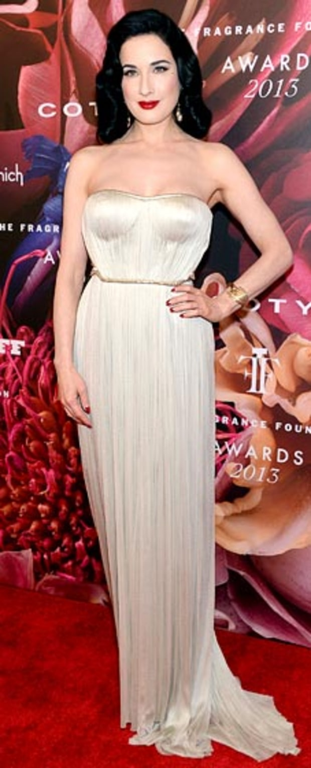 Dita Von Teese: 2013 Fragrance Foundation Awards
