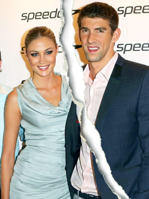 Michael Phelps and Megan Rossee
