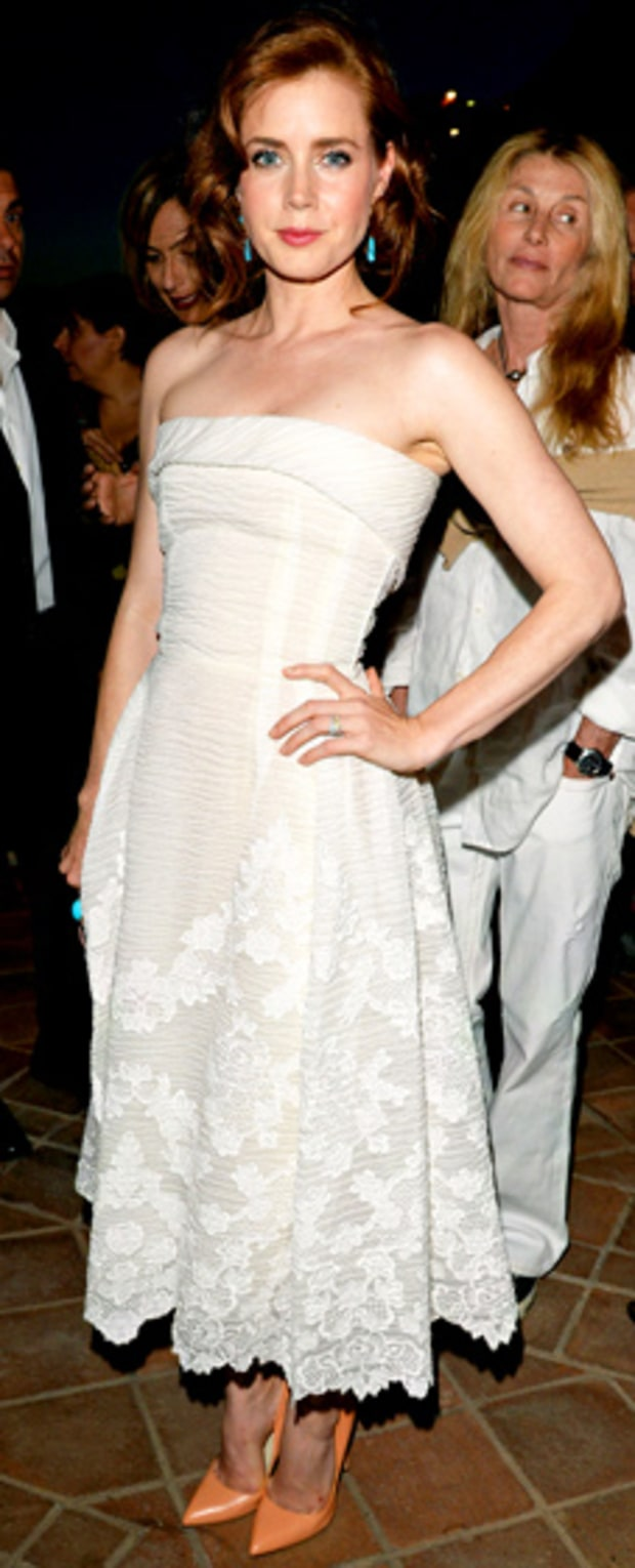 Amy Adams: Lancia Cafe at the Taormina Filmfest
