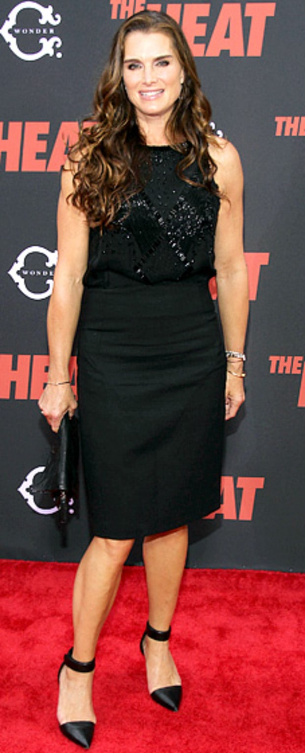 Brooke Shields: The Heat New York Premiere