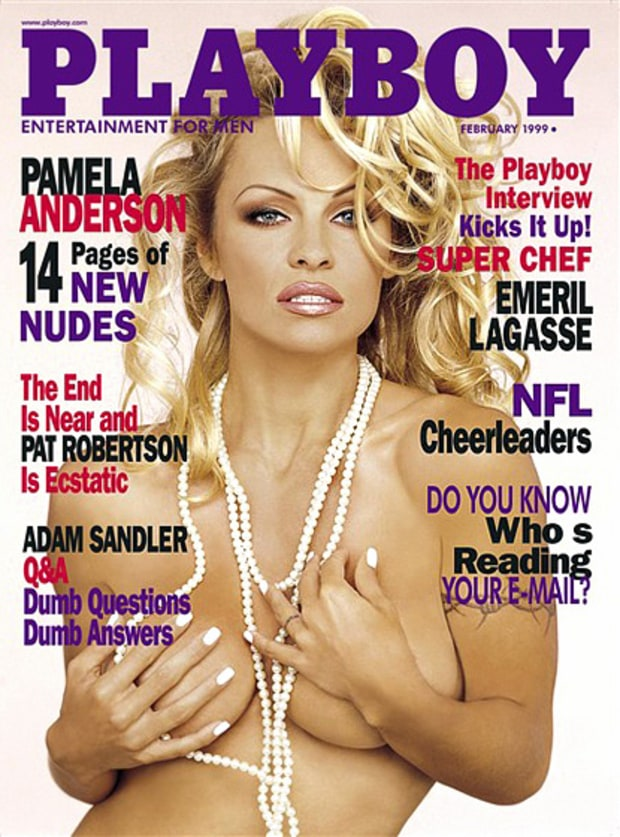 February 1999 Playboy Cover