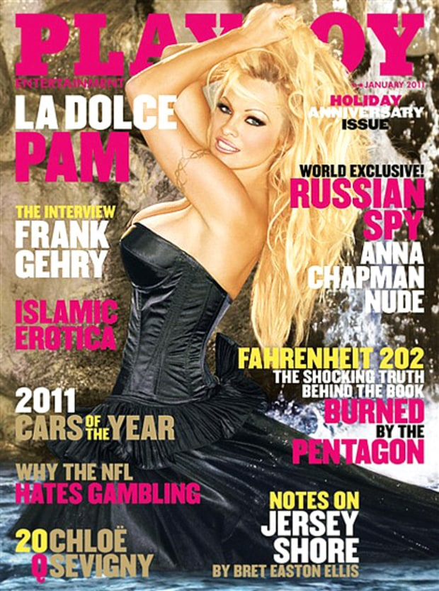 January 2011 Playboy Cover