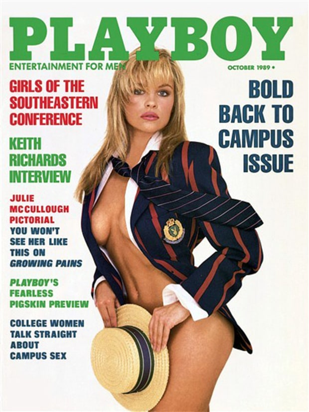 October 1989 Playboy Cover