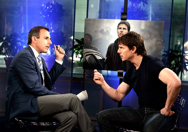 Tom Cruise Calls Matt Lauer