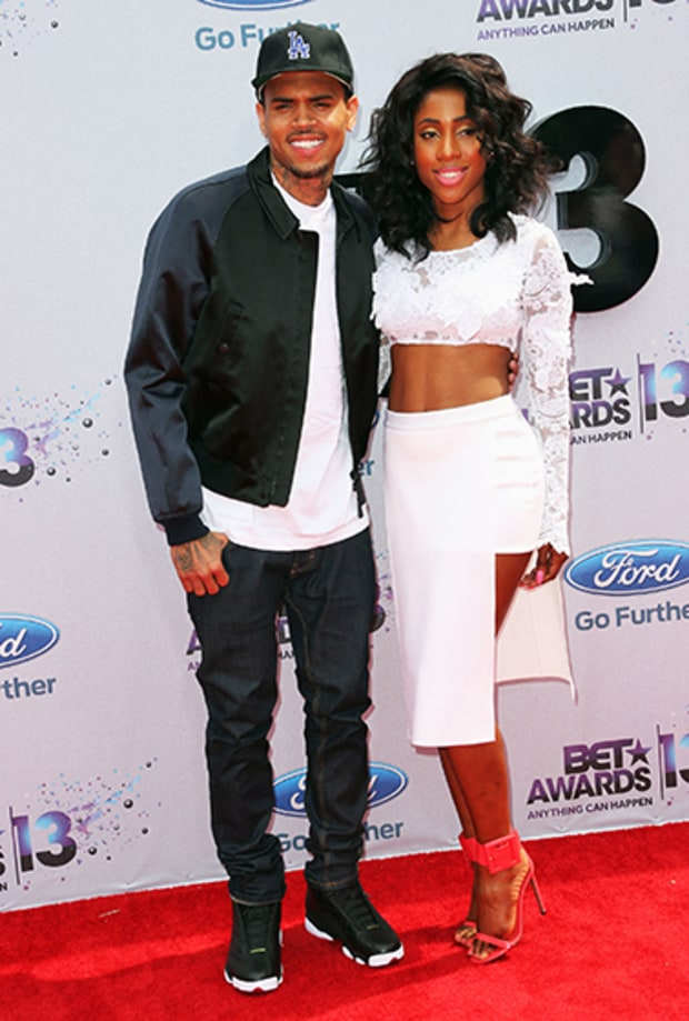 Chris Brown and Sevyn Streeter