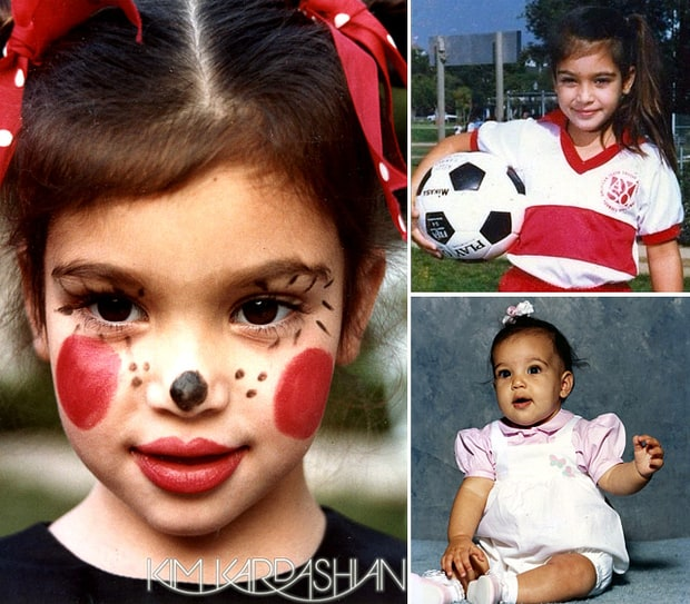 Kim Kardashian's Childhood Album