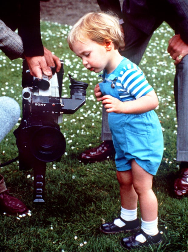 Prince William at 21 months