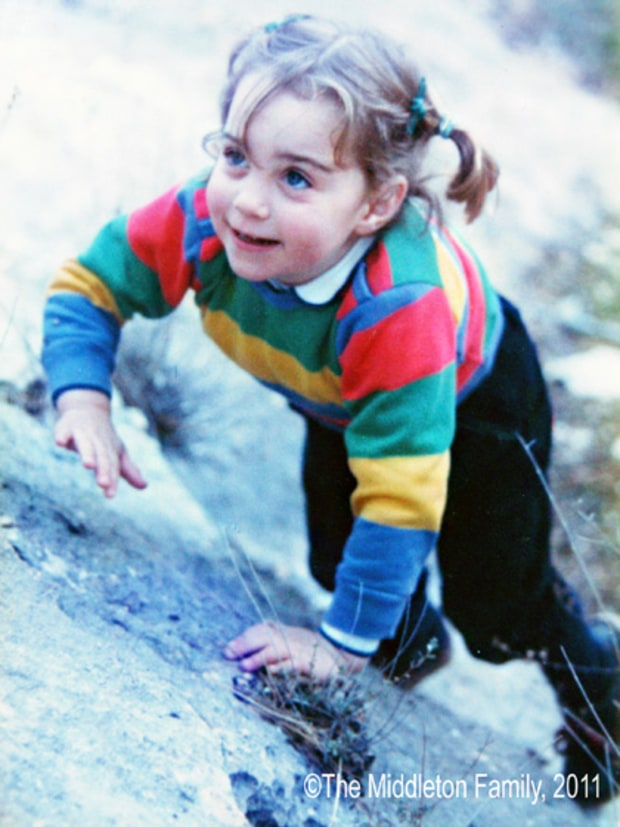 Kate Middleton at 3