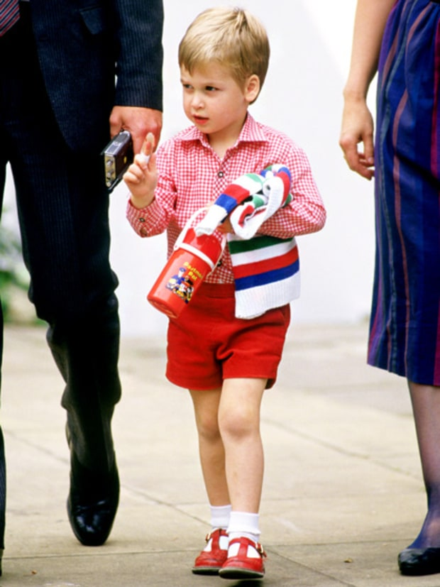Prince William at 3