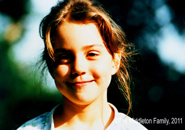 Kate Middleton at 5