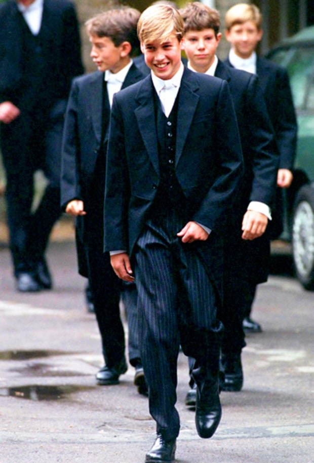 Prince William at Eton College