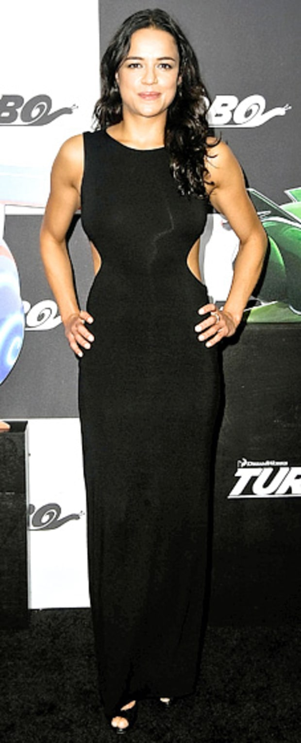 Michelle Rodriguez: Turbo New York Premiere