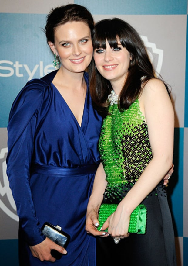 Zooey and Emily Deschanel