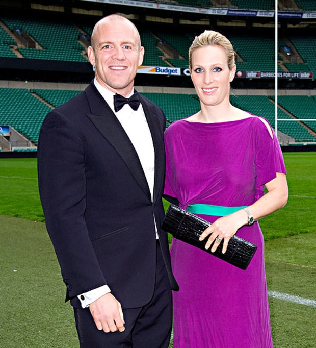 Zara Phillips and Mike Tindall | Royal Family Tree: A ...