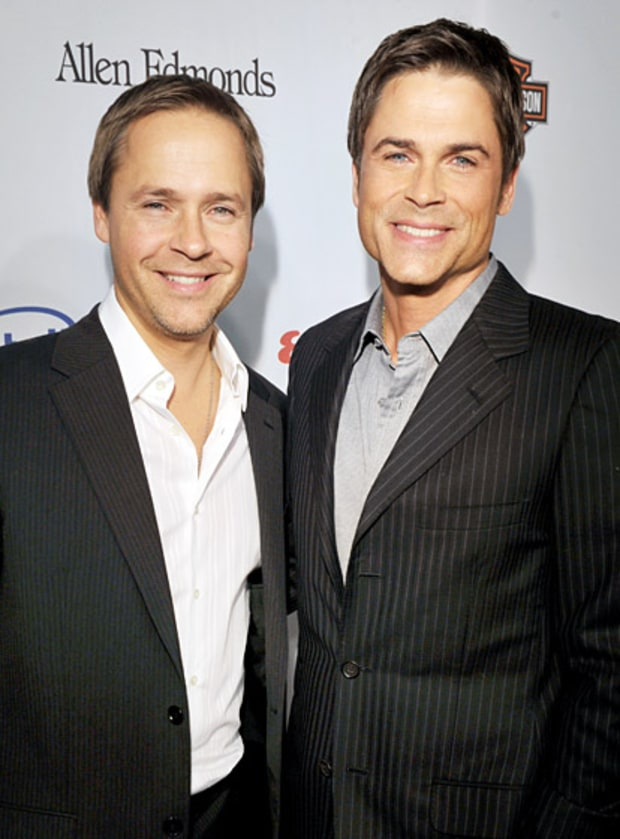 Chad and Rob Lowe | Celebrity Siblings | Us Weekly
