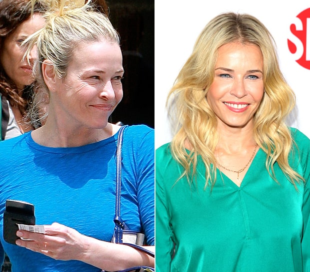 Chelsea Handler Natural Beauty Stars Without Makeup