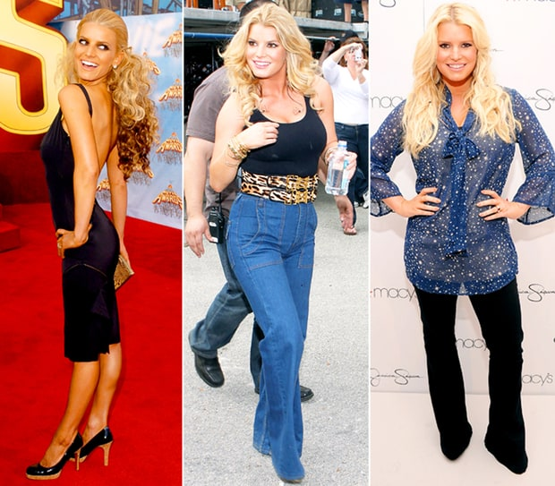 Jessica Simpson Keeps The Weight Off: Celebrity Weight Fluctuations: Stars