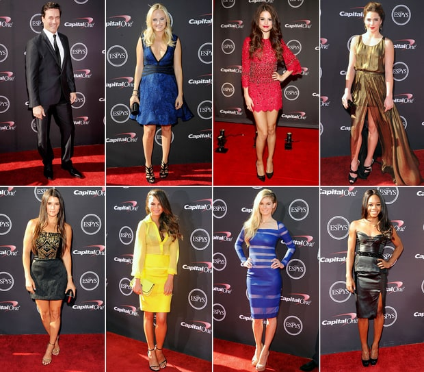 ESPY Awards 2013 Red Carpet Dresses: What the Stars Wore