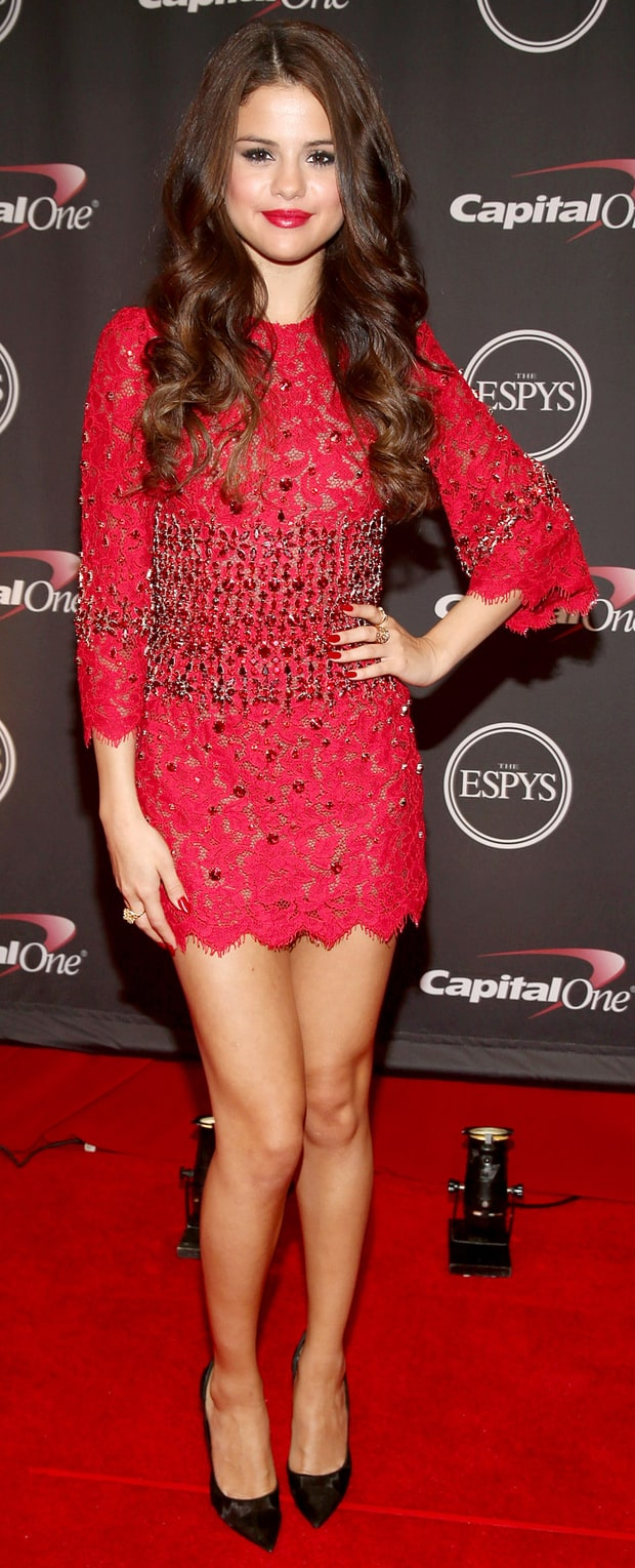 Selena Gomez: 2013 Espy Awards