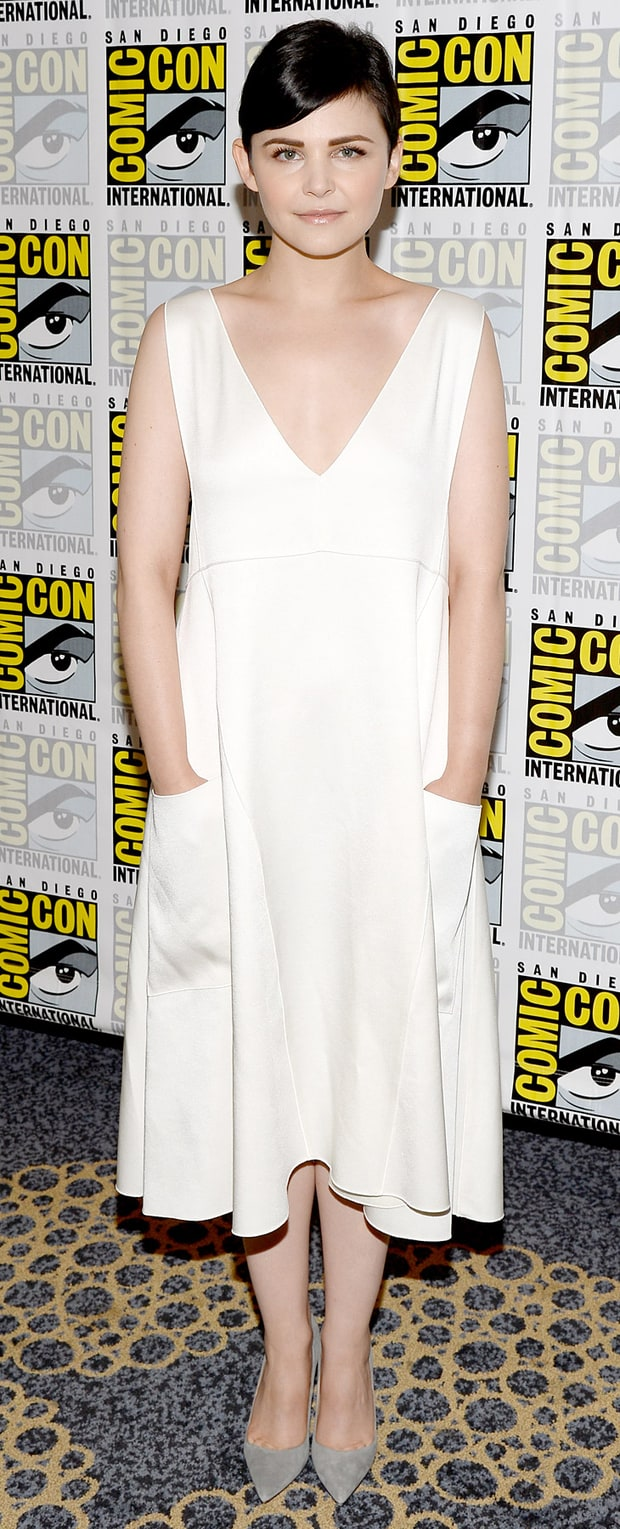 Ginnifer Goodwin: Once Upon a Time Press Line: Comic-Con International 2013