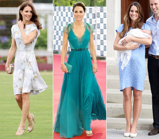 Kate Middleton: The Duchess of Cambridge's Best Jenny Packham Looks