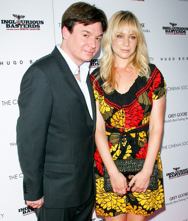 Mike Myers and Kelly Tisdale