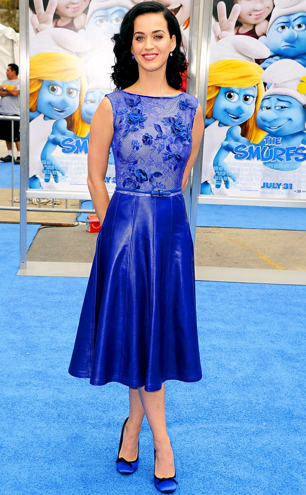 Katy Perry: The Smurfs 2 Premiere
