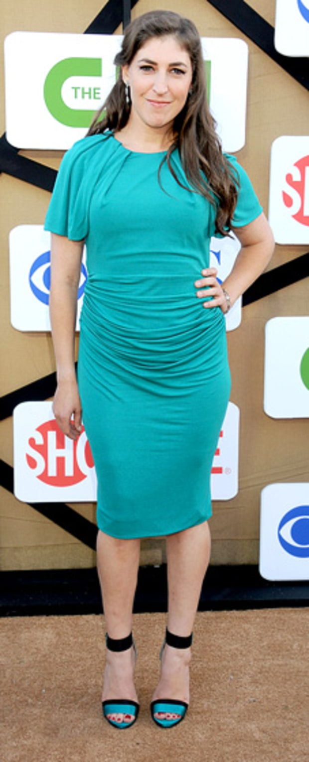 Mayim Bialik: CW, CBS And Showtime 2013 Summer TCA Party ...