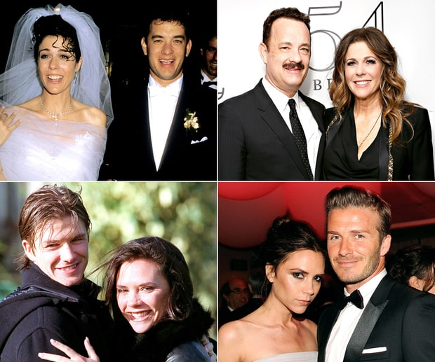 Celebrity Couples: Then and Now