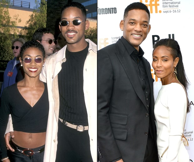 Jada Pinkett Smith and Will Smith