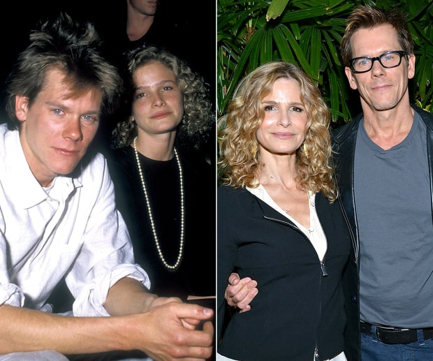Kyra Sedgwick and Kevin Bacon | Celebrity Couples: Then ...