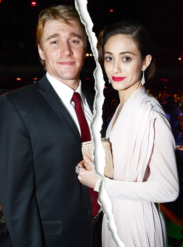 Emmy Rossum and Tyler Jacob Moore