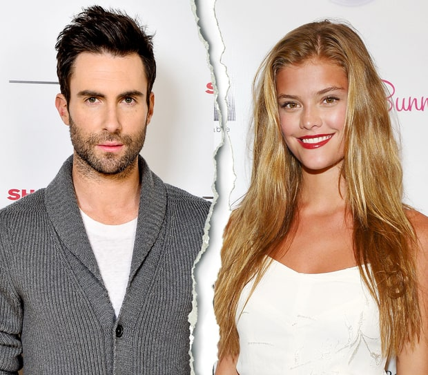 Adam Levine and Nina Agdal | 2013's Biggest Splits | Us Weekly