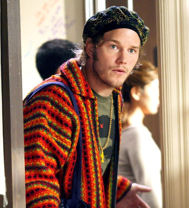 Chris Pratt: Then