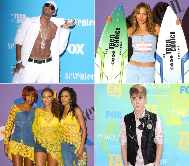 Teen Choice Awards: Wackiest Outfits Ever!