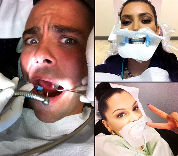 Celebs at the Dentist