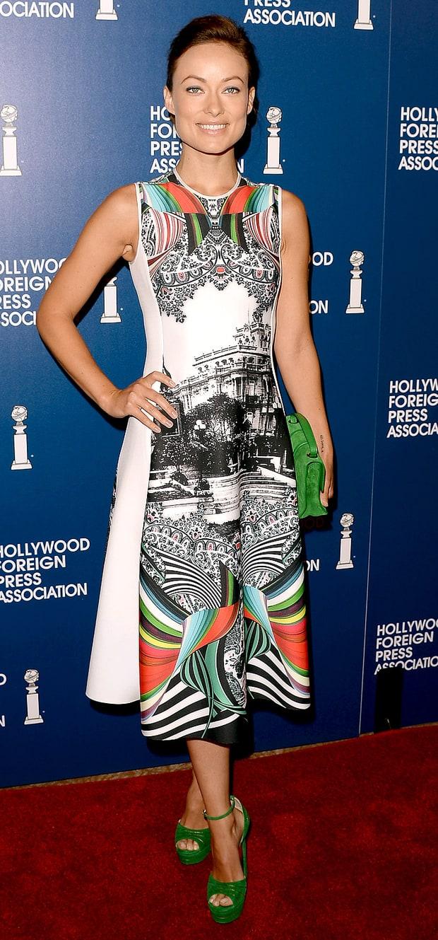 Olivia Wilde: Hollywood Foreign Press Association's 2013 Installation Luncheon
