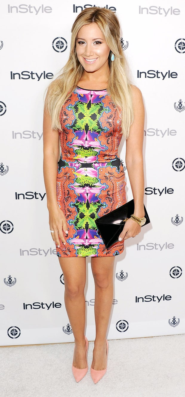 Ashley Tisdale: 2013 InStyle Summer Soiree