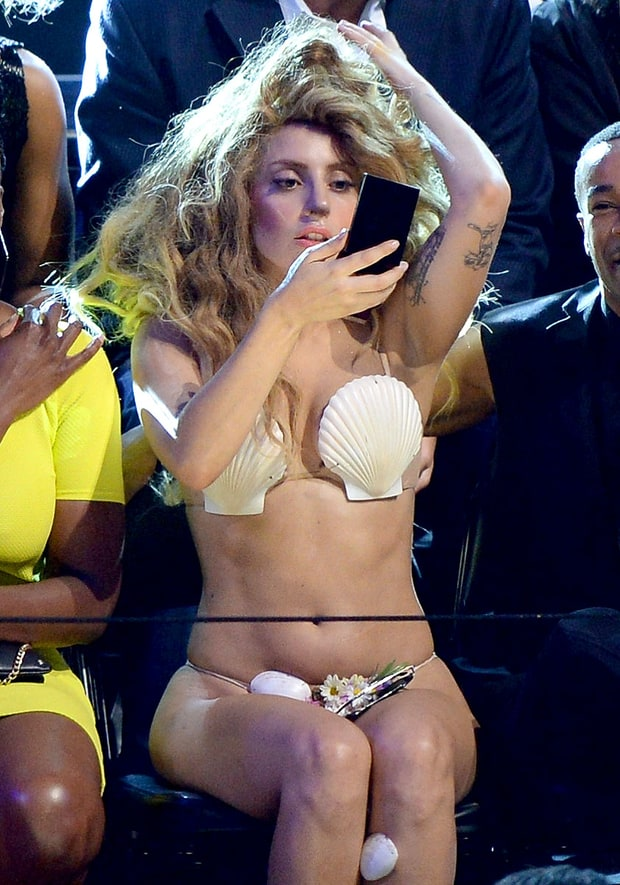 Gaga Shells Out