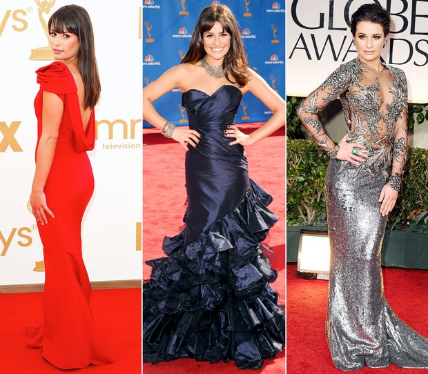 Lea Michele's Stunning Red Carpet Style