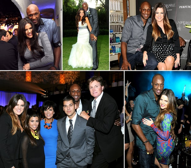 Khloe Kardashian and Lamar Odom's Married Life