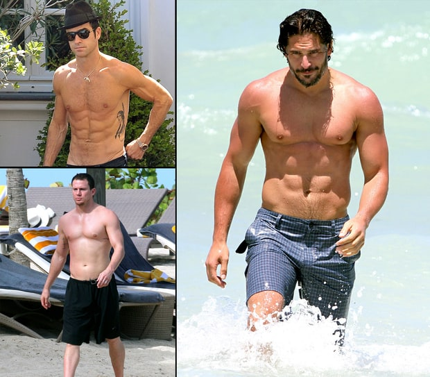 Shirtless Hunks