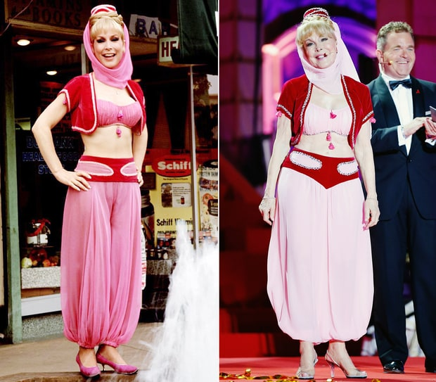 Barbara Eden as Jeannie on I Dream of Jeannie