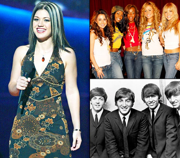 Pop Stars Failed Beginnings